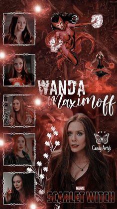 Wallpaper- Wanda Maximoff