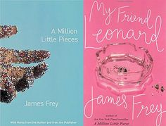Two great books about the life of a drug addict. I don't care if the stories in the first book were stretched, James Frey is an amazing writer and brave to share his story with the world.