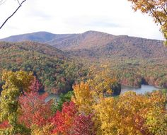 Fall in the North Carolina mountains