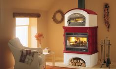 INGRID WITH OVEN , Wood Burning Stoves by Palazzetti