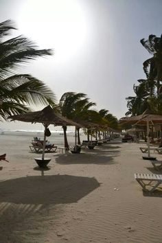 The Gambia beach - notbythetravelbook