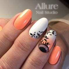 🔼Discover our semi-permanent nail polish for a perfect manicure in record time😉! 🎁 on your first order with the code -International delivery Orange Nails, Purple Nails, Red Nails, Hair And Nails, Cherry Nails, Orange Nail Designs, Diy Nail Designs, Love Nails, Pretty Nails