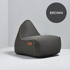 Bag It - Retro It Indoor Bean Bag Dark Brown