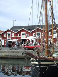 SKAGEN HARBOR - had tuborgs and baby loster tails, right on the park bench ~ one of the best meals in my life. YUM!!!