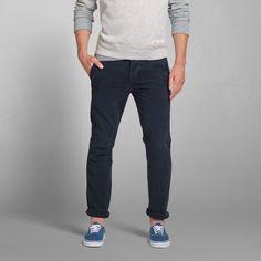 Mens A&F Skinny Chinos   Mens Pants