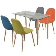 Decoration, Dining Chairs, Ikea, Furniture, Inspiration, Home Decor, Central, Impression, Table And Chairs