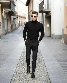 7 Stylish Outfit For 2020 .Feat (Alex Costa, One Dapper Street) Stylish Mens Outfits, Cool Outfits, Prada Outfits, Classy Outfits, Black Outfit Men, All Black Male Outfits, Moda Blog, Look Man, Neue Outfits