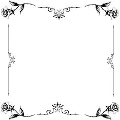 black rose frame . ❤ liked on Polyvore featuring frames, backgrounds, borders, molduras, cornici, fillers, outline and picture frame