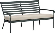 Orleans Sofa with Sunbrella® Stone Cushion  | Crate and Barrel