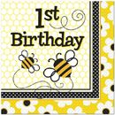 Bumble Bee 1st Birthday Party Supplies