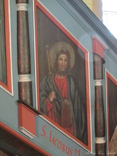 pulpit 1762-1763, Joroisten kirkko, church, Finland Old Churches, Triathlon, Finland, Mona Lisa, Artwork, Painting, Triathalon, Work Of Art, Paintings