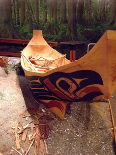 Recreated Tlingit Fishing Village at the Ketchikan Discovery Center Alaska (2) by mharrsch, via Flickr