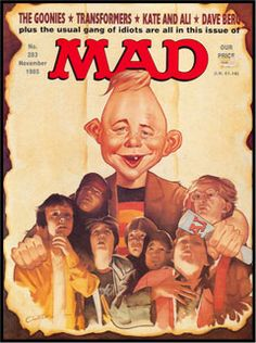 Mad magazine-The Goonies