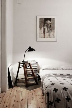 my scandinavian home: A relaxed, bohemian space in Stockholm Dream Bedroom, Home Bedroom, Bedroom Decor, Bedroom Ideas, Master Bedroom, Gothic Bedroom, Budget Bedroom, My New Room, My Room
