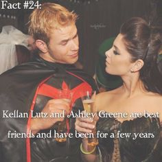 ~ When I first heard about this, I thought it was adorable. Best friends staring in movies together {#twililoghtsaga#alicecullen#emmettcullen#ashleygreene#kellanlutz#twifact24}