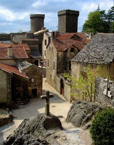 Village of Couvertoirade, Aveyron, France. This village hosted a commandry for the Templars. Original by Loïc Brohard on Flic...