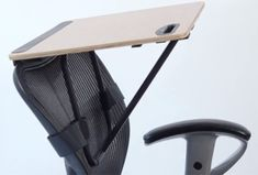 StorkStand May Be the Simplest Standing Desk Ever Designed. As we learn more about the health benefits of standing versus sitting, a slew of standing desk concepts have been pouring out of designers. The StorkStand is the cheapest, smallest, and most no-nonsense of the bunch. The standing desk is a platform that mounts to the back of any office chair, le ...