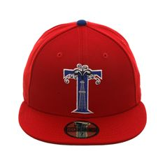 7db43ef71df Exclusive New Era 59Fifty Tulsa Drillers 1994 Hat - Red
