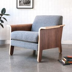 Gus Lodge Chair | 2Modern Furniture & Lighting $1063
