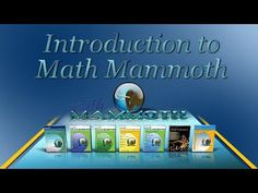 Math Mammoth offers affordable, yet quality math worktexts and workbooks for elementary and middle school (plus some supplemental materials for high school), loved by parents, homeschoolers, and teachers. Homeschool Math Curriculum, Homeschooling, Math Numbers, Middle School, How Are You Feeling, Education, Learning, Maths, Books