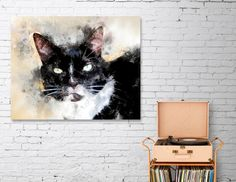 Discover «Cat Jagoda art», Numbered Edition Canvas Print by Justyna Jaszke - From $49 - Curioos
