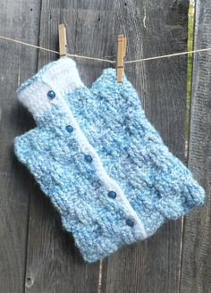 Winter's coming this would be so good to have. Hot Water Bottle Cozy Warmer by BubbleGumInTheMail on Etsy, $37.00