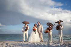 Destination wedding, cancun wedding, mexico wedding, beach wedding, mariachi! How fun! Relax, take a break from coordinating the travel, and just let C2C Travels coordinate your travels for you! We save you the time, hassles, and frustration of planning! 2744.mtravel.com/