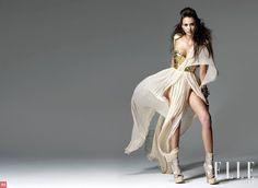 Jessica Alba in Elle 2010