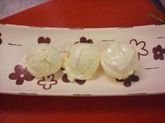 Vanilleeis ohne Ei