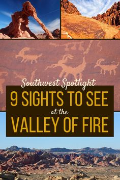 No time to visit the while you're in Las Vegas? There's another spot only 50 miles away from the Strip that's just as much fun to visit - the Valley of Fire! Discover 9 amazing sights you can see at the Valley of Fire. Valley Of Fire State Park, Monument Valley, New Orleans, New York, Death Valley, Oh The Places You'll Go, Places To Travel, Travel Destinations, Nevada