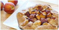 Rustic Peach Galette recipe from Trader Joe's. -CAB