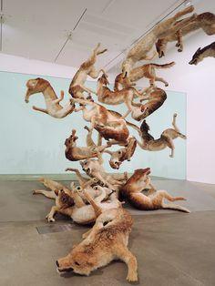 Cai Guo-Qiang - Falling Back to Earth