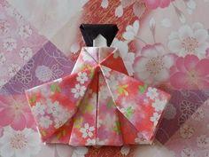 折り紙のおひな様 着物の折り方作り方 Origami Hina Doll Origami Paper, Diy Paper, Paper Art, Paper Crafts, Hina Dolls, Diy And Crafts, Arts And Crafts, Christmas Origami, Origami Animals