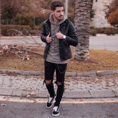 Mens Fall Fashion Trends of 2018 on How To Wear Fall Leather Jackets 30 --  Click image to see more. f7af4bdf6761
