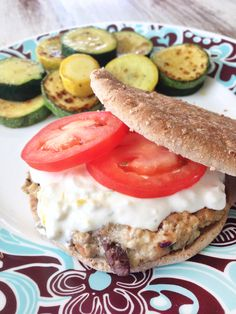Greek Turkey Burgers — The Skinny Fork