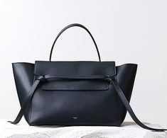 The new bag on the block. Read about the new knot-bag from Celine on The Wall at www.elin-kling.com