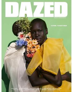 DIARY OF A CLOTHESHORSE: Grace Bol & Alek Wek covers Dazed Magazine Summer ...