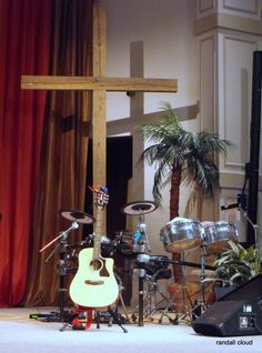 Music is quiet at the cross. A real hideaway place for me.
