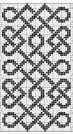 also ideal as a cable knitting pattern - knitting pattern - . also ideal as a cable knit template - knitting pattern - History of Knitting . Cable Knitting Patterns, Bead Loom Patterns, Knitting Charts, Mosaic Patterns, Double Knitting, Beading Patterns, Quilt Patterns, Crochet Motifs, Crochet Chart