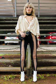 Street style, SPFWn43: dia 5 - Vogue | Streetstyle
