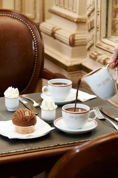 Angelina - if you love hot chocolate and you're in Paris, you MUST stop here and try their's. It's magic.