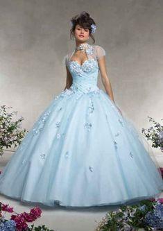 vestido de cenicienta para fiestas de 15 años (1)
