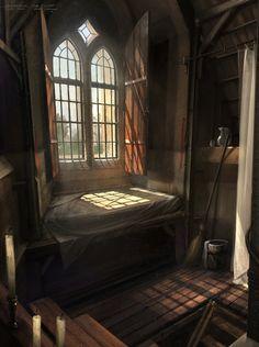 fantasy artstation medieval bedroom concept room cafaro oscar cinderella interior fairy castles places environment artwork aidan godmother closet rooms interiors