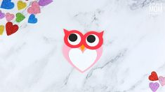 Letter O Crafts, Owl Crafts, Paper Plate Crafts, Animal Crafts, Easy Crafts, Rainy Day Crafts, Valentine's Day Crafts For Kids, Toddler Crafts, Bird Template