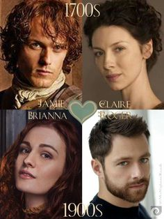 Jaime, Claire, Bree, and Roger