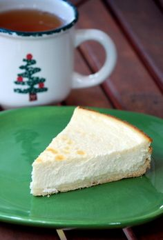 Eggnog Ricotta Cheesecake ~ Think I will try this with Cran-Raspberry Dessert Sauce