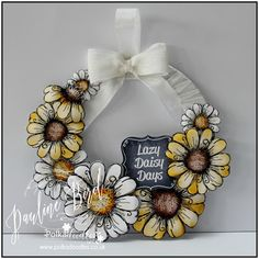 Crafting with Cotnob: Lazy Daisy Days
