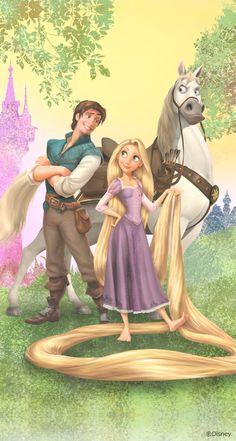 Rapunzel Flynn e Maximus Disney Princess Drawings, Disney Princess Pictures, Disney Drawings, Disney Films, Disney And Dreamworks, Disney Cartoons, Disney Dream, Disney Love, Disney Art