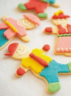 Biscuits poupées à habiller Recettes | Ricardo