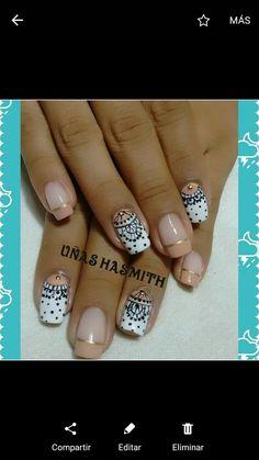 Classic Nails, Manicure Y Pedicure, Black Nails, Nail Designs, Nail Art, Beauty, Nail Design, Names, Toe Nail Art